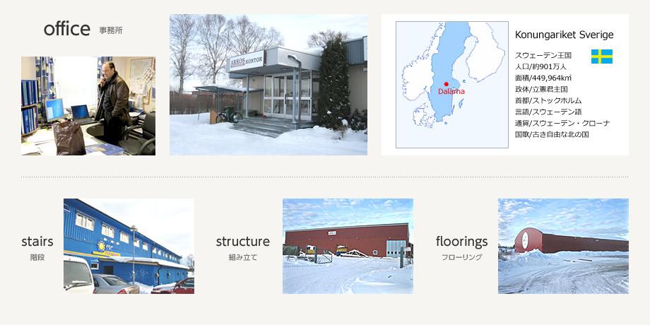 スウェーデンの工場紹介