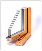 木製3層ガラス窓